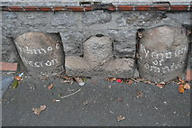 SX4857 : Boundary stones by N Chadwick