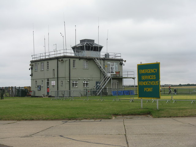 Control Tower at Duxford