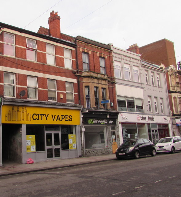City Vapes, Commercial Street, Newport