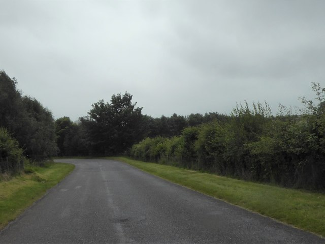 Road between Lynwilg and the A9