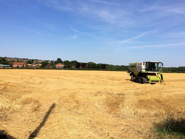 Field and Farm Machinery on the Fringes of South Aston