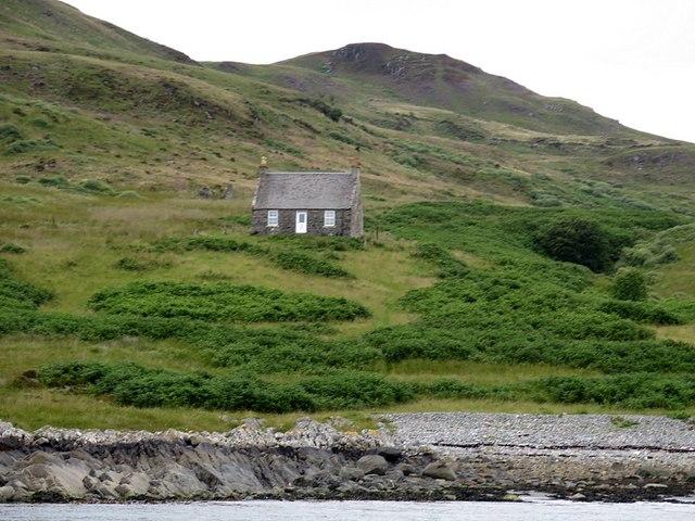 Remote bothy in Gleann a' Mhaoil, Scarba