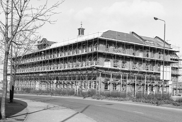 Converting the old Fownes factory