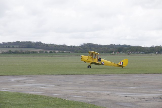 Taxiing Tiger
