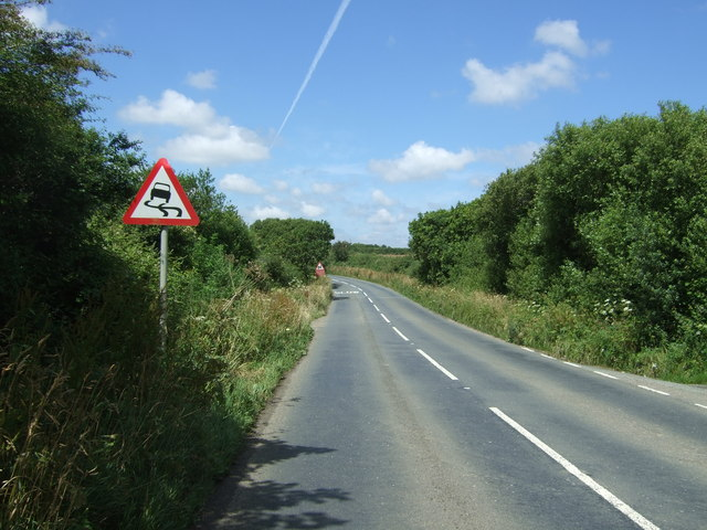 B3293 towards Garras