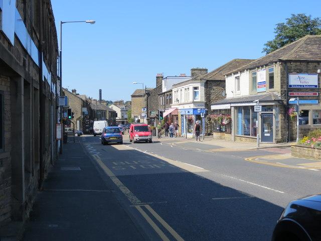 Main Street (A6068) in Glusburn