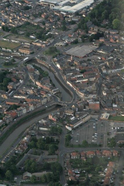 Wisbech: aerial 2017 (2)