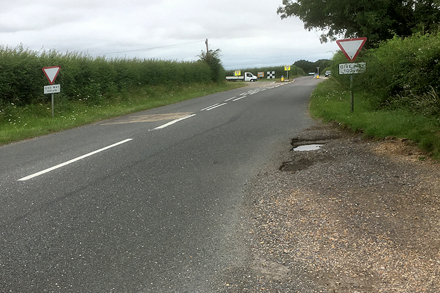 Salisbury Road near Junction with A30