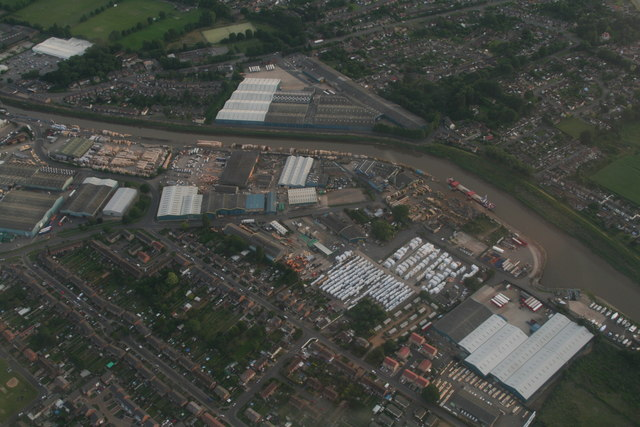 Port of Wisbech: aerial 2017