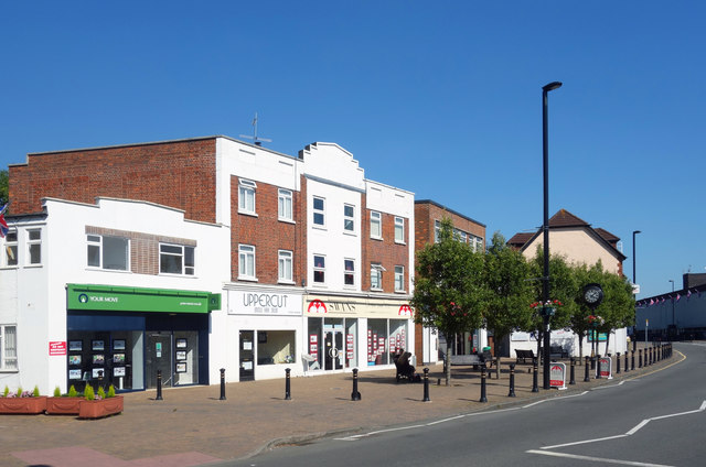 Shops on Church Road, Ashford