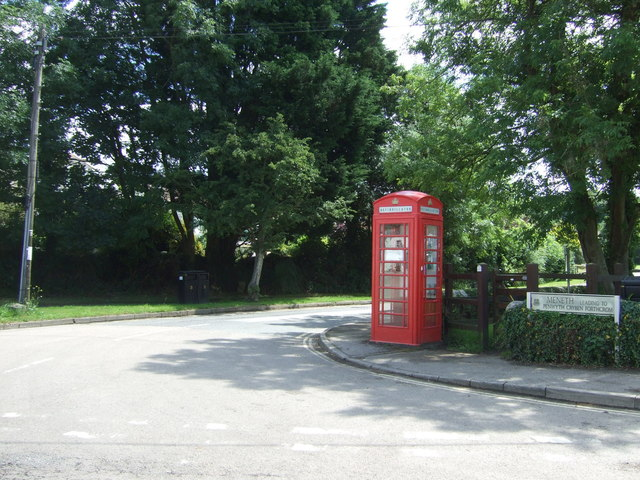 Telephone box, Gweek