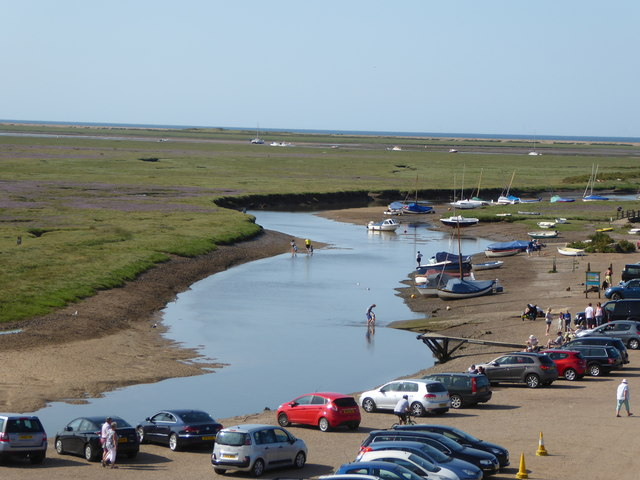 Blakeney Harbour and The Carnser