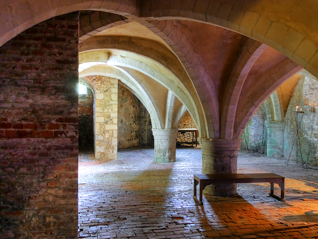 Mottisfont Abbey Cellarium