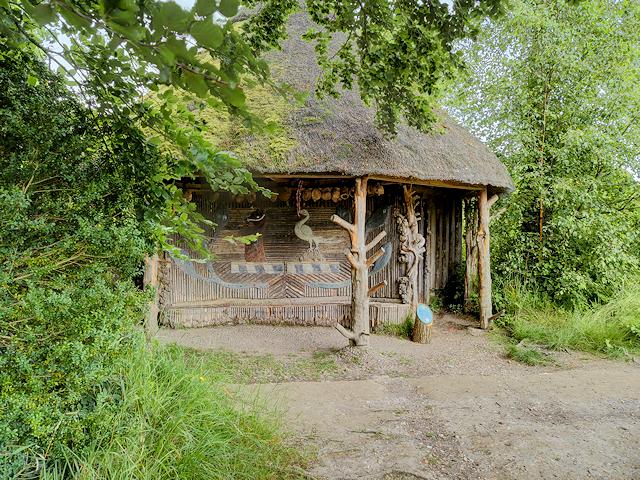 The Fishing Hut on the Mottisfont Estate
