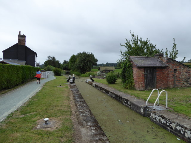 Beside the Montgomeryshire Canal near Berriew