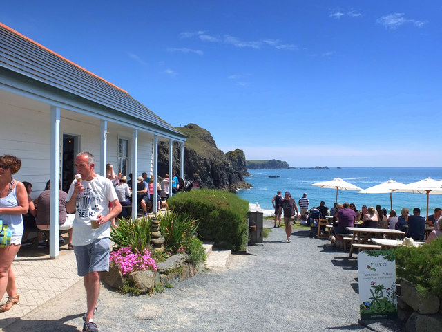 Beach Cafe at Kynance Cove