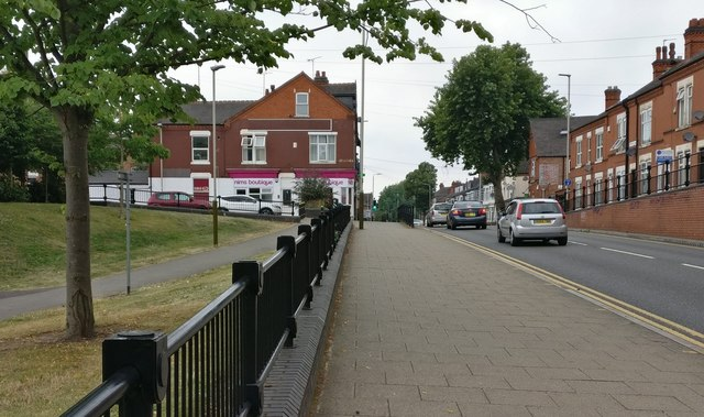 Upperton Road in Westcotes, Leicester