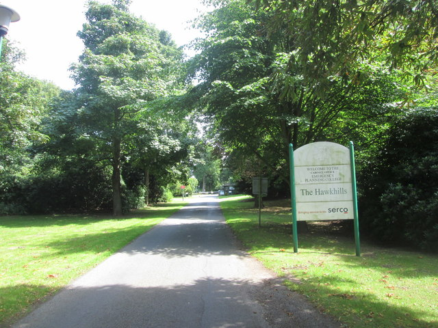 Entrance to The Hawkhills