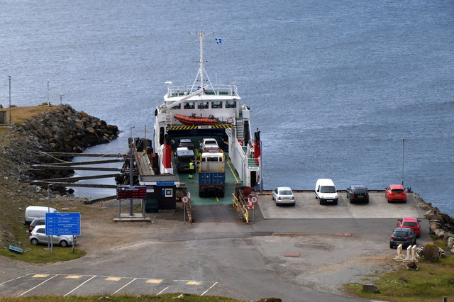 Ferry loading at Belmont