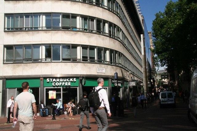 Villiers Street, near Embankment tube station