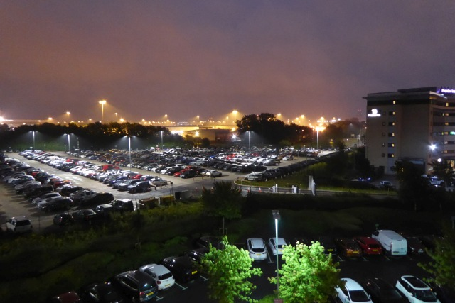 Car parks near Manchester Airport
