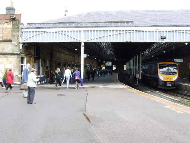 Train shed at Scarborough railway station