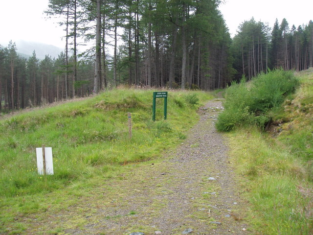 The start of Jock's Road