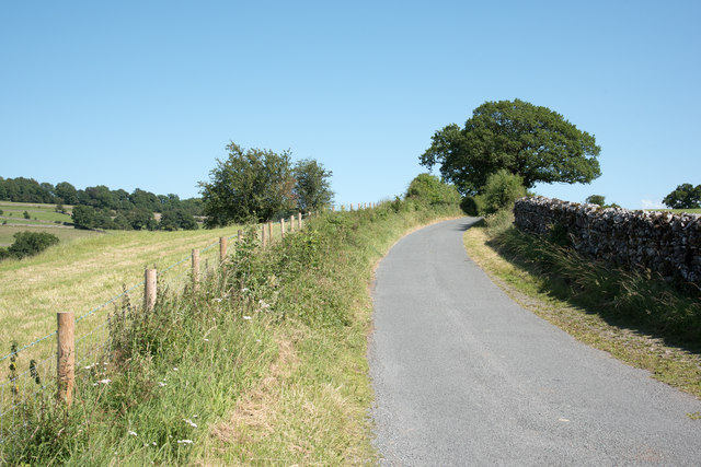 Road between Bomby and Rawfoot