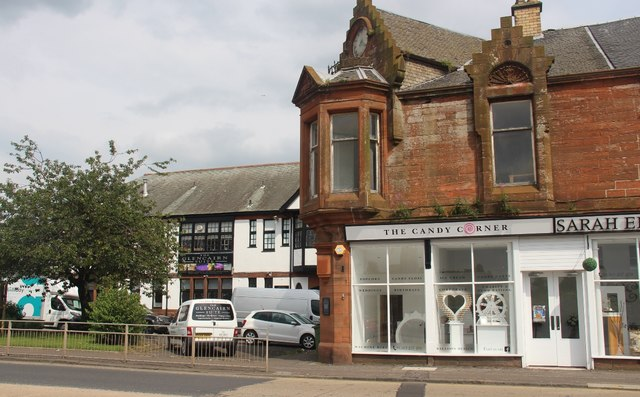 Shops on High Glencairn Street, Kilmarnock