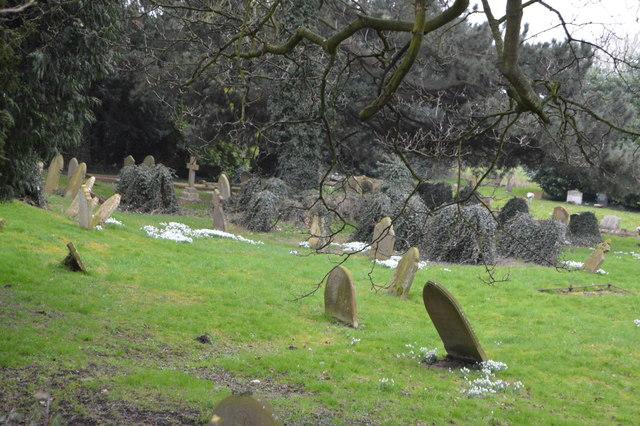 Graveyard, Church of St Mark