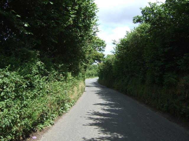 Minor road towards Falmouth