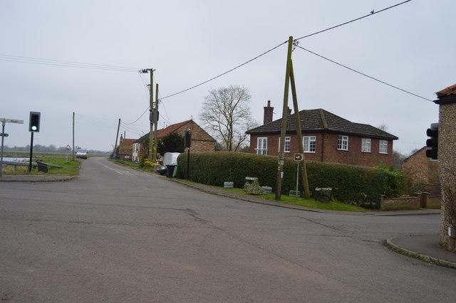 Cross roads, Ten Mile Bank