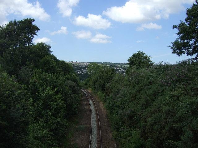 Railway towards Truro