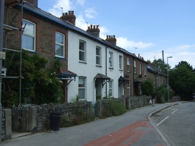 Houses on North Parade