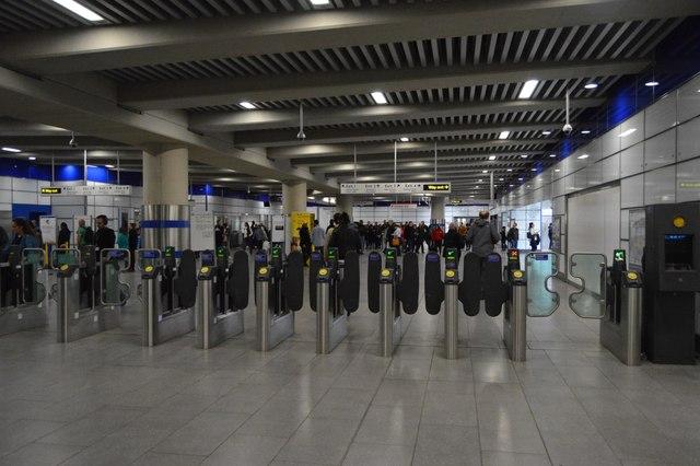 Tottenham Court Road Underground Station