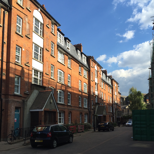 Five-storey tenements, Peabody Trust, Camberwell Green Estate, south London