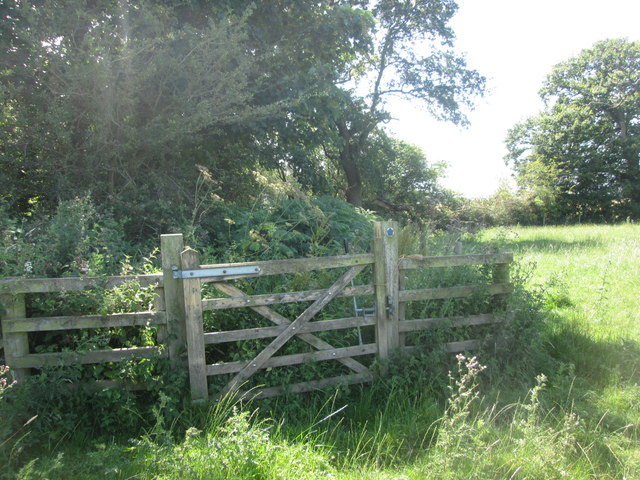 Tricky section of bridleway