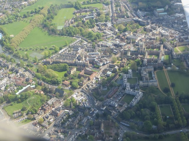 Flying over the colleges