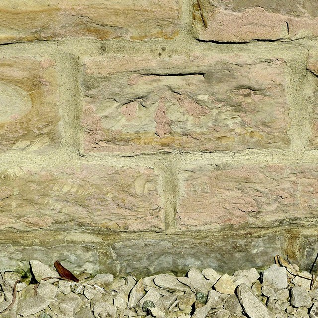 Bench mark, The Smallholding, Heanor Road, Smalley