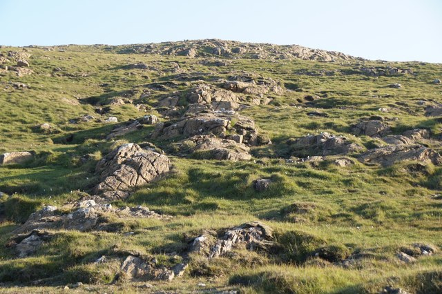 North-eastern slopes of Little Heog