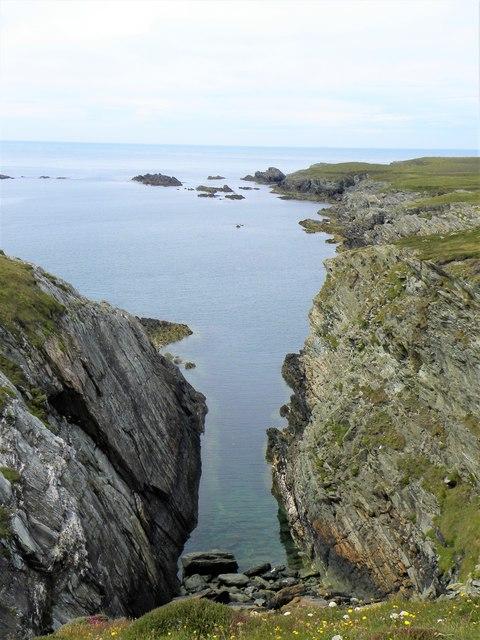 Coastline 'geo' at Porth Ruffydd