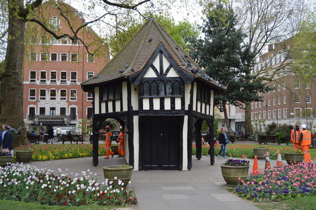 Central toolshed, Soho Square