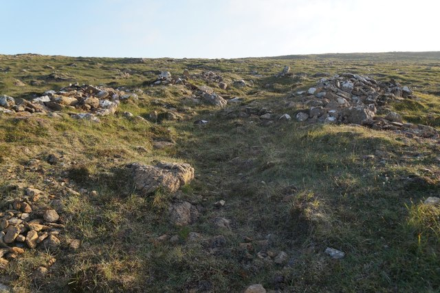 Harald's Grave, Muckle Heog