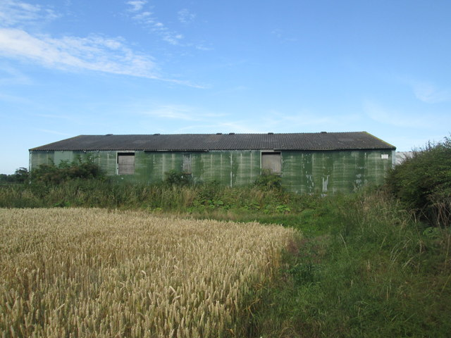 Isolated building beside Field Lane, Shipton