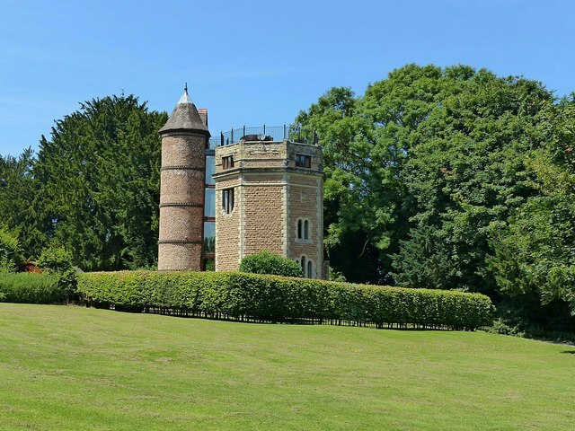 Water tower, Shipley Park