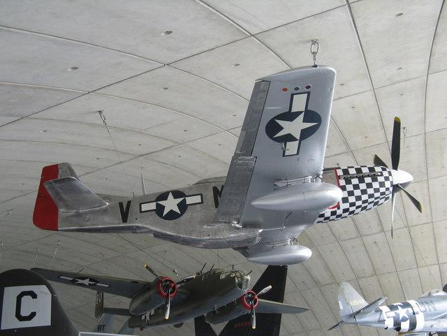 P-51 Mustang at Duxford