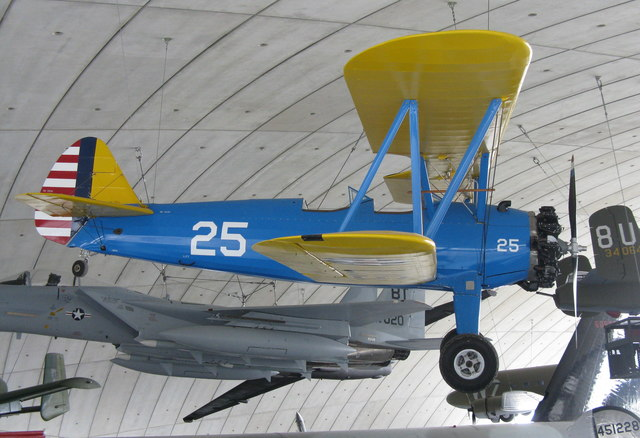 Boeing Stearman PT-17 at Duxford