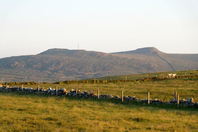 View to the Heogs from Brakes, Haroldswick