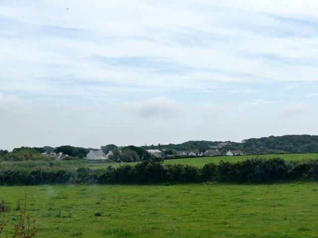 Fields south of Ballagawne