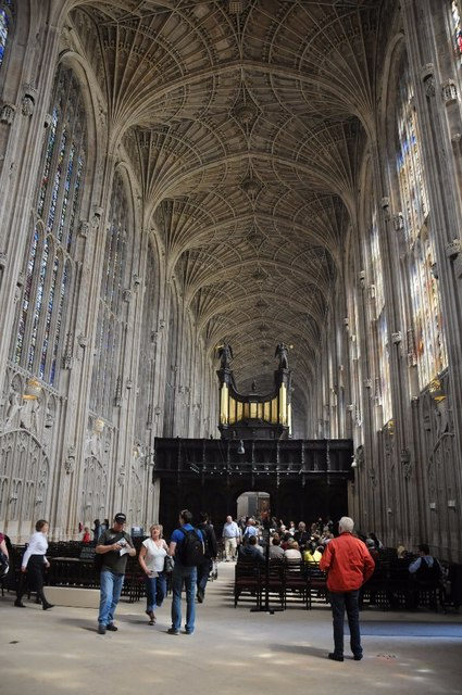 Interior of King's College Chapel